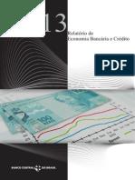 Relatório de Economia Bancária e Crédito 2013