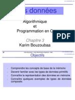 Chapitre3-Structures de Donnees