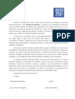 Anexo 4-Modelo de Carta Para Profesorado