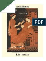 Aristofanes Lisistrata Bilingue