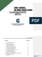 5.0+BIG+PPG+Panduan+dan+Jadual+PelaksanaanPPG10JAN2012