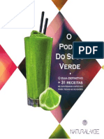 Livro Digital o Poder Do Suco Verde Natural Vibe