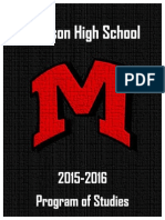 2015-2016 Madison HS Course Book
