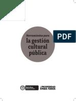 Herramientas Para La Gestión Cultural Pública
