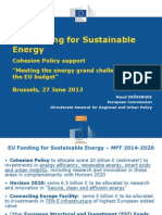 EU Funding Sustainable Energy - ERRIN and Others - 27.6.2013 (1)