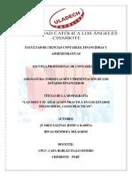 If_las Niifs y Su Aplicación Práctica en Los Ee.ff.