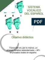 2. Clasificación de Las Vocales