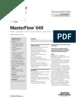 Basf Masterflow 649 Tds