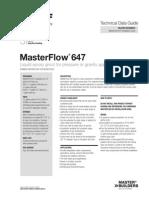Basf Masterflow 647 Tds