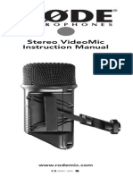 Stereovideomic Product Manual