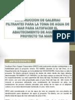 CONSTRUCCION DE GALERIAS FILTRANTES