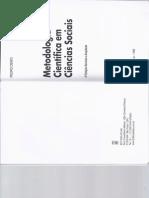 4. DEMO(1995) Metodologia Científica Em Ciências Sociais