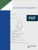 EDHEC Position Paper Risks European ETFs
