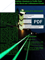 Evaluation of Strontium Aluminate in Traffic Pain Pavement Markings for Rural and Unilluminated Roads Poster