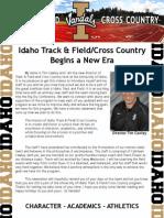 Idaho Track & Field Cross Country Newsletter - December 2014