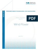 Re Technologies Cost Analysis-wind Power