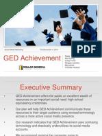 GED Achievement