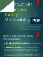 Constructivist Grounded Theory Methodology