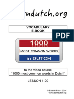 e Book Lesson 1-20-1000DutchWords