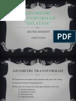 Geometri transformasi - dilatasi.pptx