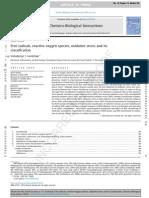[Doi 10.1016_j.cbi.2014.10.016] v. I. Lushchak -- Free Radicals, Reactive Oxygen Species, Oxidative Stress and Its Classification