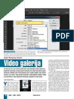 Video galerija - photoshop tutorijal