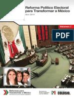 Reforma Politico Electoral de México