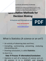 Essential Stats for Decision Making-1 Descriptive Stats-2011