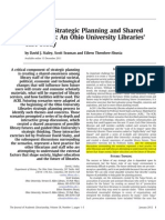 Staley-Futuring, Strategic Planning and Shared Awareness- An Ohio University Libraries' Case Study