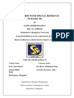 A project on BASEL Accords 3