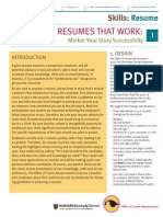 Resumes Guide