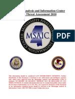 MSAIC - Gang Assessment 2010