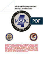 MSAIC - Gang Assessment 2010