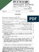 Railway Reserve July 1929 Coast Artillery Journal-