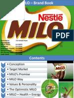 MILO - Brand Book - Table of Contents - 1 Dec 2013