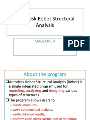 Autodesk Robot Structural Analysis Professional_Training