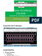 AutoCAD 2014 Training