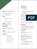 Resumen Fórmulas Física 2º