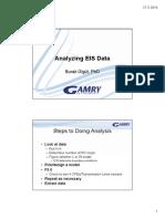 6 Analyzing EIS Data