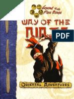 l5r - The Way of the Ninja