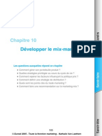 Developper Le Mix Marketing