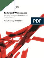 Technical Whitepaper - Backup & Restore DSM7