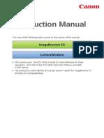 ImageBrowser EX CameraWindow Instruction Manual En