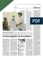 Alberto García-Basteiro en El Progreso 21/12/2014