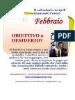 Il calendario 2015 di Giancarlo Fornei - FEBBRAIO
