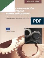 Reglamento Europeo de Maquinas