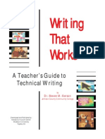 Writing Technical Writing