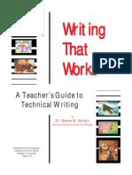 Writing Technical Writing