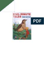 Blyton Enid Minute Tales 01 Five Minute Tales 1933.doc