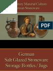 Drinking - German Stoneware